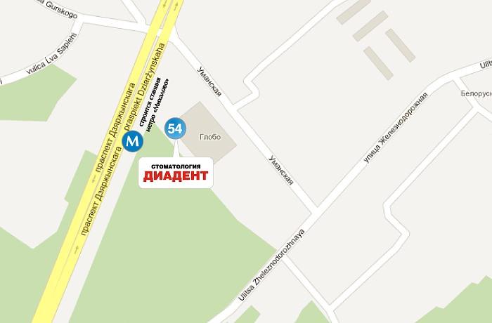 Наш центр по адресу ул. Уманская, 54, ТЦ ГЛОБО